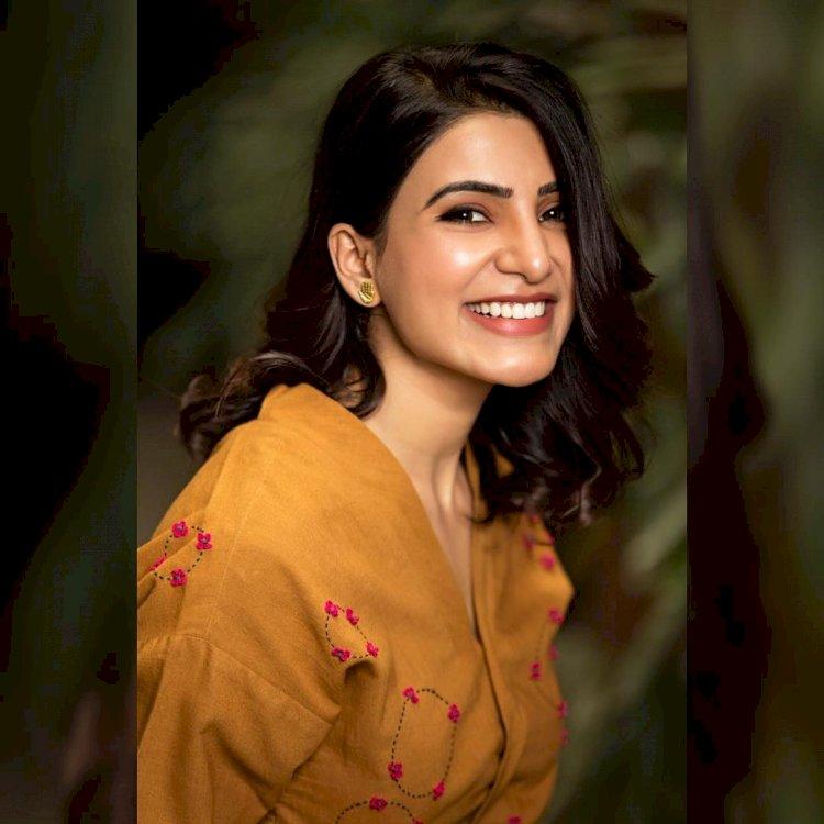 செம்ம லுக்கில் நடிகை சமந்தா வெளியிட்ட போட்டோ!