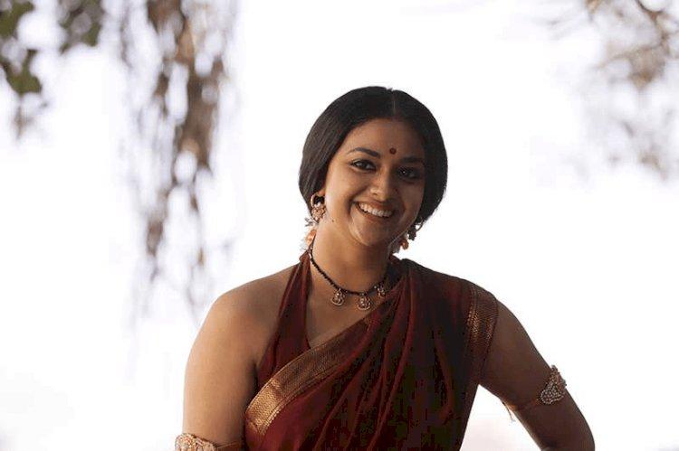 மேக்கப் இல்லாமல் இருக்கும் நடிகை கீர்த்தி சுரேஷ்!