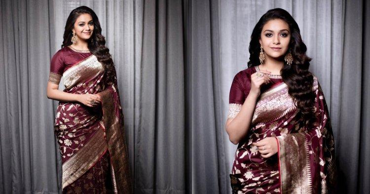 கவர்ச்சியை பின்பற்ற போறாரா சர்கார் பட நடிகை கீர்த்தி சுரேஷ்?
