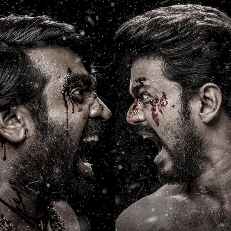 விஜய் + விஜய் சேதுபதி.. வெறித்தனமான மாஸ்டர் 3வது போஸ்டர்!